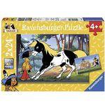 """RAVENSBURGER 88690 Yakari und """"kleiner Donner"""" Puzzle für 5€ (statt 9€)"""
