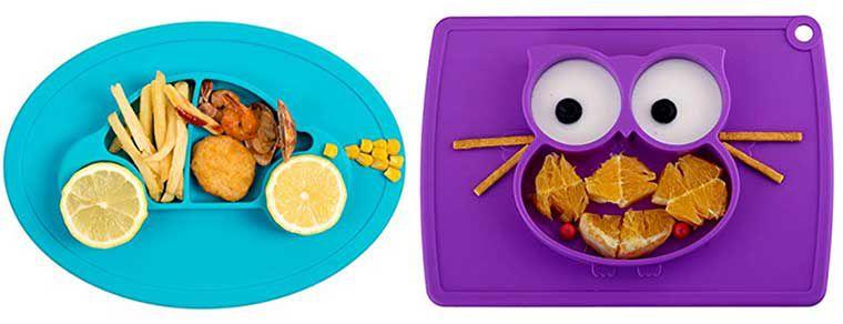 Verschiedene Silikon Tischsets (28x20x2.5cm) für Kinder für 13,29€ (statt 19€)
