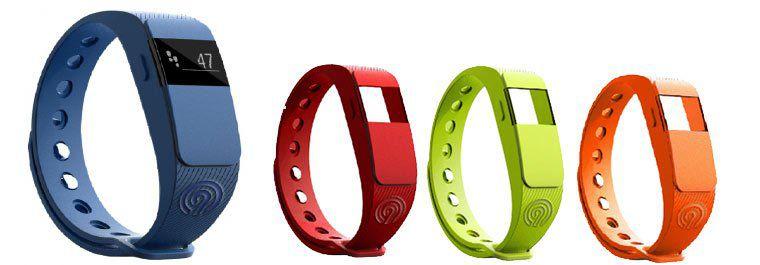 NINETEC Smartfit F2 Fitnesstracker + 3 Ersatzbänder für 18,89€