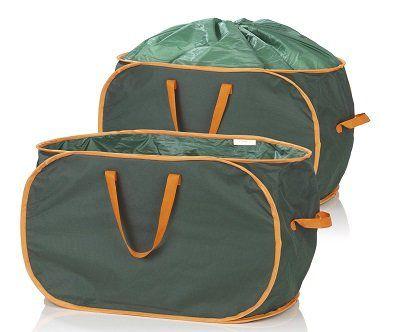 PRIMA GARDEN verschließbare Gartenabfalltaschen 333 l im 2er Set für 28,90€ (statt 35€)