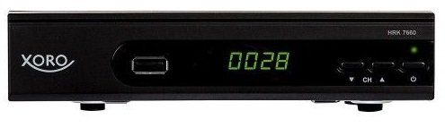 Xoro HRK 7660 HD DVB C Receiver für 34,90€ (statt 40€)