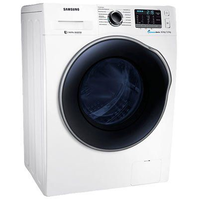 SAMSUNG WD81J5A00AW/EG   Waschtrockner (8 kg/5 kg, 1400 U/Min., A) für 699€ (statt 793€)