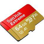 SanDisk Extreme microSDXC 64GB Karte für nur 15€ (statt 21€)