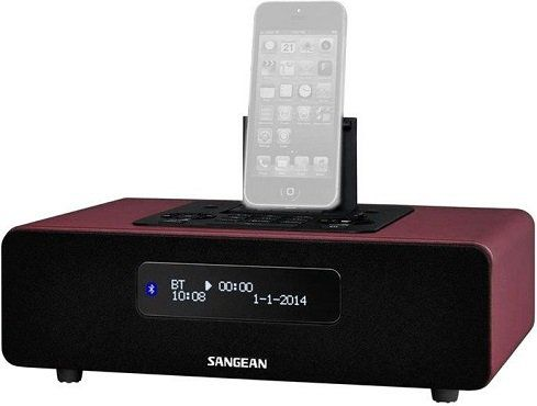SANGEAN DDR 38 BT DAB+ Radio mit iPhone Dockingstation ab 165,99€ (statt 249€)