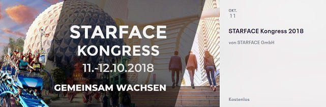 NUR HEUTE kostenloser Eintritt zum Kongress STARFACE im Europapark Rust