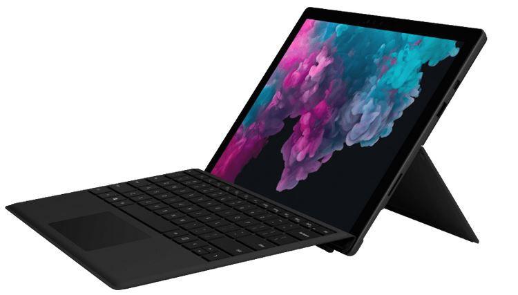 MICROSOFT Surface Pro 6   12.3 Zoll Convertible mit i5 256GB SSD für 1.099€ (statt 1.349€)
