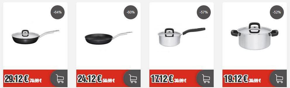 Top12 Küchenzubehör Sale: z. B. Zwilling Messerblock Ceppo Pure 8 Teilig für 159,12€ (statt 248€)
