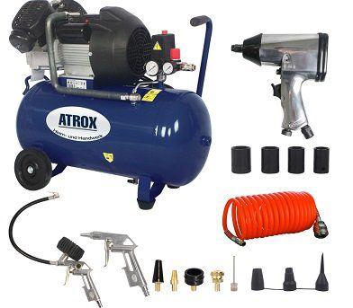 Atrox AY676 Doppelzylinder Kompressor Set für 189,95€ (statt 280€)
