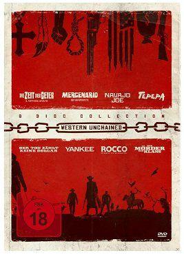 Western Unchained Collection   Die Box auf 8 DVDs für 15€ (statt 30€)