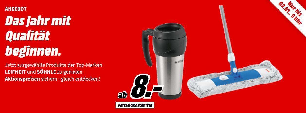 Media Markt Soehnle & Leifheit Aktion: z.B. Leifheit Isolierbecher für 8€ (statt 14€)