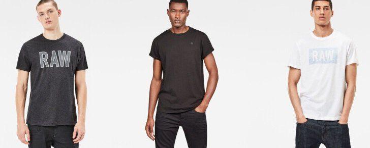 G Star RAW Sale bei Vente Privee   z.B. T Shirts ab 14,99€ oder Jeans ab 44,99€