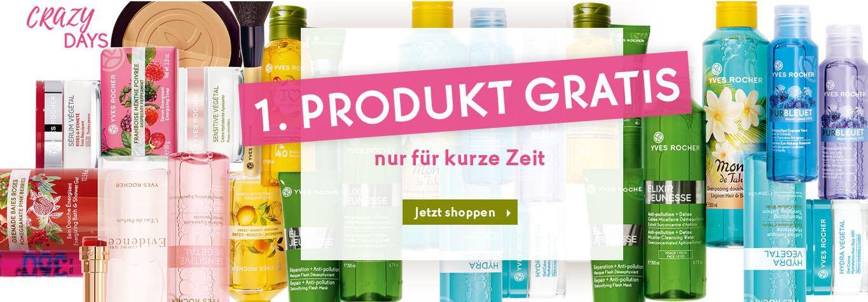 Yves Rocher Sale mit 50% Rabatt + 1 Artikel gratis ab 10€ MBW + VSK frei ab 25€