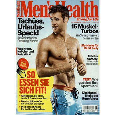 Jahresabo Mens Health für 53€ inkl. 40€ Verrechnungsscheck