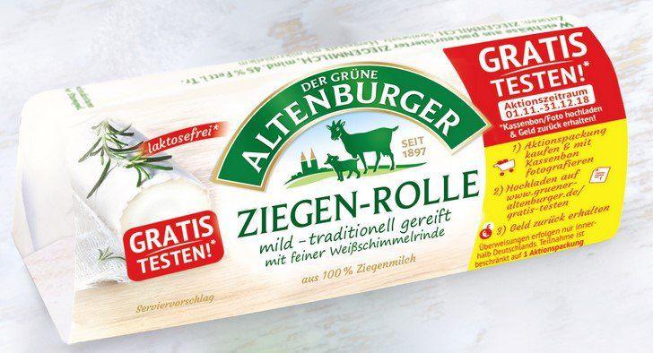 Die Ziegenrolle von DER GRÜNE ALTENBURGER gratis testen
