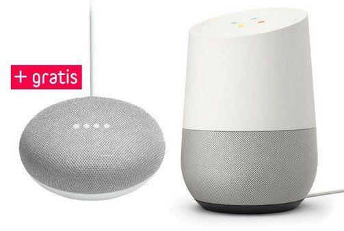 Google Home + Google Home Mini für 89€ (statt 120€)