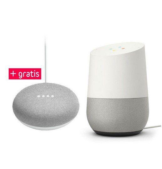 Google Home + Google Home Mini ab 69,95€ (statt 97€)