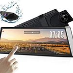 AUTO-VOX X1 – Dashcam-Spiegel (1296p) mit Rückkamera (720p) mit GPS & vielen Extras für 147,69€ (211€)