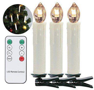 30% Rabatt auf versch. kabellose LED Lichterketten mit Fernbedienung (z.B. 40er Set für 25,89€)