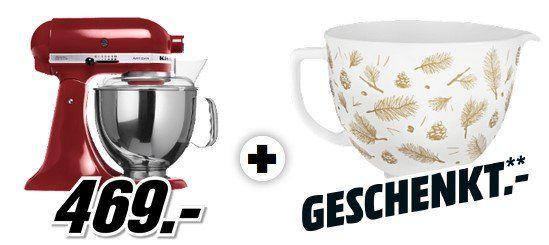 KITCHENAID 5KSM150PSEGC   Küchenmaschine + Keramikschüssel für 469€ (statt 644€)