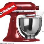 KITCHENAID 5KSM150PSEGC – Küchenmaschine + Keramikschüssel ab 469€ (statt 651€)
