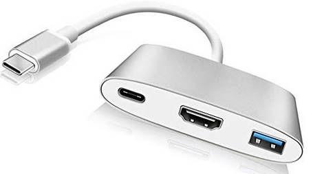 Piaek LJQ003   USB C 3.1 Hub mit HDMI  & USB Anschluss für 13,79€ (statt 23€)