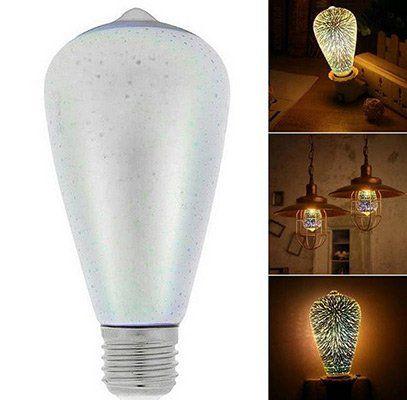 Feuerwerk LED Glühbirne mit E27 Sockel für 3,98€