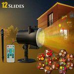 LED Projektor mit 12 unterschiedlichen Motiven für 19,99€ (statt 28€)