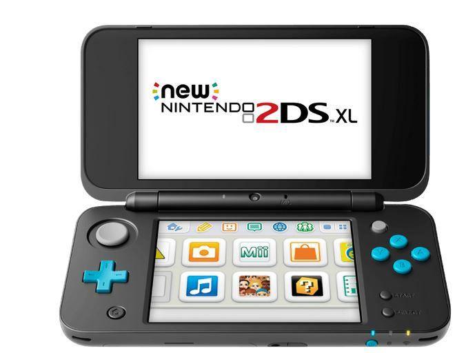 New Nintendo 2DS XL Türkis Schwarz für 119,43€ (statt 139€)