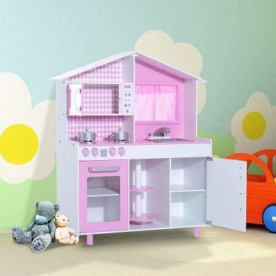 HOMCOM Spielküche mit Fenster für 79,92€ (statt 100€)