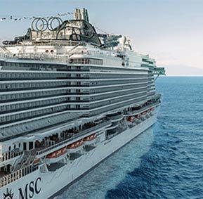 MSC Black Week: Günstige Kreuzfahrten ab 349€   nur noch heute!