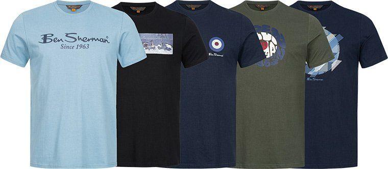 Ben Sherman T Shirts für je ab 10,99€   30 Modelle und keine Versandkosten