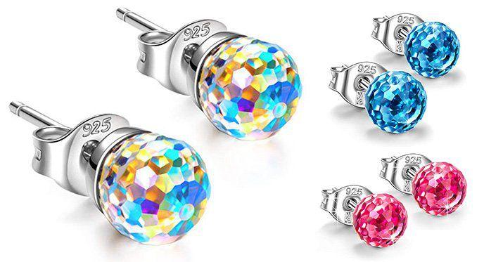 Alex Perry Fantastische Welt 925 Sterlingsilber Ohrringe mit Swarowski Steinen für 7,99€ (statt 22€)