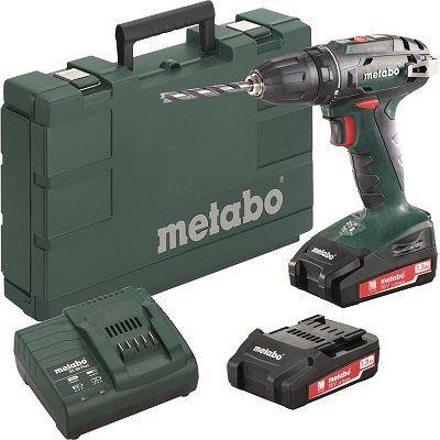 Metabo BS 18 Li 18V Akku Bohrschrauber mit 2x 1,3 Ah Akkus, Ladegerät und Koffer für 89,95€ (statt 130€)