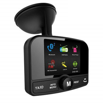 FirstE DAB008 DAB/DAB+ Autoradio Adapter für 47,97€ (statt 80€)