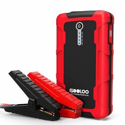 GOOLOO tragbare Starthilfe (GP140) mit 600A für 49,39€ (statt 76€)