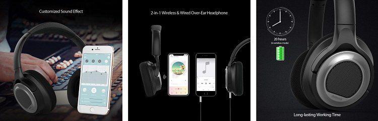 dodocool OverEar Kopfhörer mit ANC für 53,99€ (statt 80€)