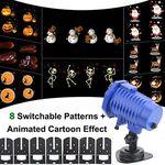 LED Projektor mit 8 einstellbaren & animiertem Motiven für 13,49€