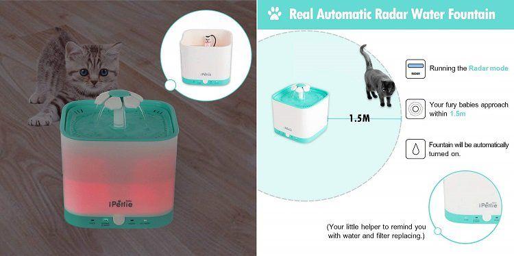 35% Rabatt auf Katzen Trinkbrunnen   z.B. Neko NS Smart für 25,34€ (statt 39€)