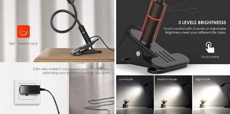 Teckin LED Schreibtischlampe (DL01) für 13,10€ (statt 19€)