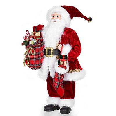 Weihnachtsmann (45,7cm) als Dekofigur für 18,19€ (statt 26€)