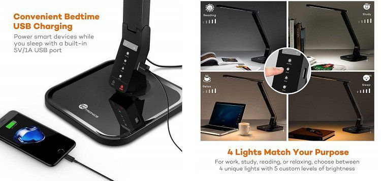 TaoTronics Schreibtischlampe 💡(TT DL01) für 19,99€ (statt 29€)