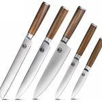 T.G.Y Messer Set 5-teiliges Edelstahl Küchenmesser-Set für 17,97€ (statt 31€)