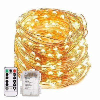 Ecowho LED Lichterkette mit 200 LEDs für 6,49€ (statt 17€)   Prime