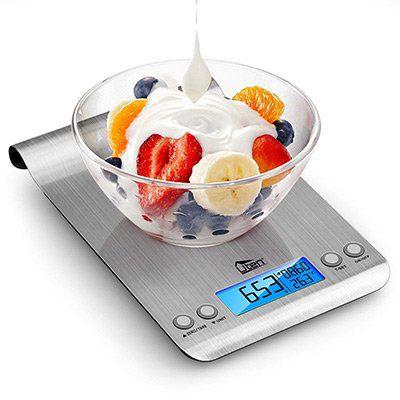 Uten   digitale Küchenwaage bis 5kg für 9,99€   Prime