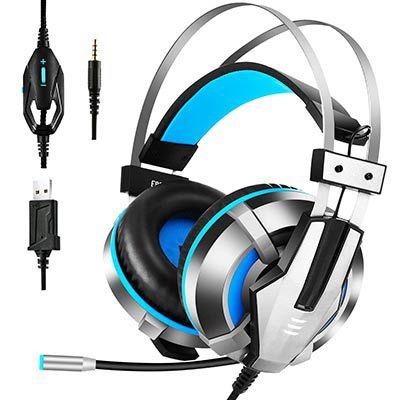 EKSA E800   Gaming Headset für 7,49€   Prime