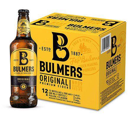 Bulmers Cider Original & Bulmers Pear Cide jeweils (12 x 0.5 l) für je 17,99€   Prime