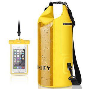Dry Bag (20L) von INTEY + wasserfeste Handyhülle für 8,99€   Prime