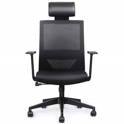 Amzdeal Bürostuhl mit verstellbarer Kopfstütze für 71,49€ (statt 110€)