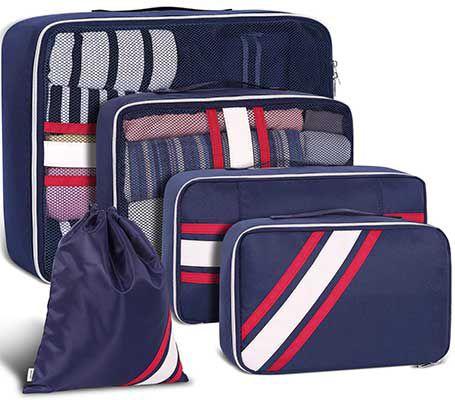 5tlg. Kofferorganizer in vielen Farben für je 11,69€   Prime