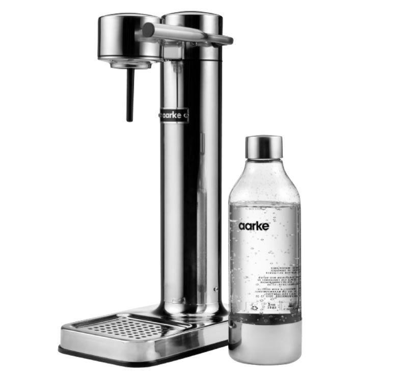 AARKE AA 01 Wassersprudler Silber für 129€ (statt 199€)